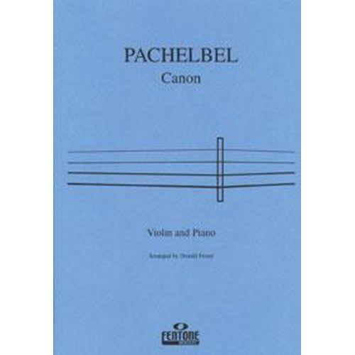 FENTONE MUSIC PACHELBEL J. - CANON - VIOLON & PIANO