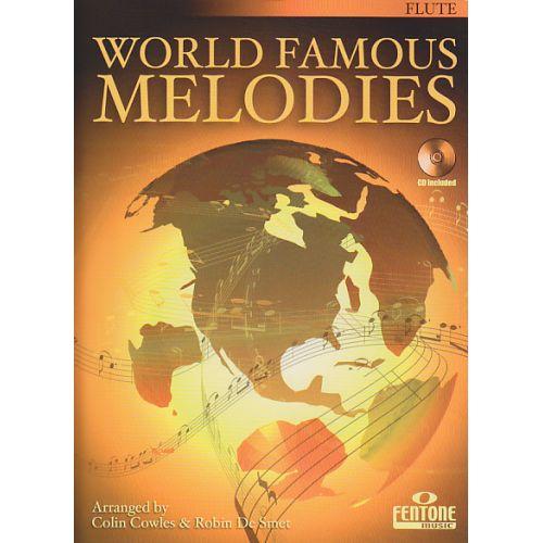 FENTONE MUSIC WORLD FAMOUS MELODIES - FLUTE + CD