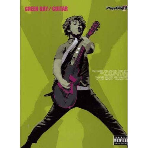 FABER MUSIC GREEN DAY - GUITAR PLAY ALONG + CD