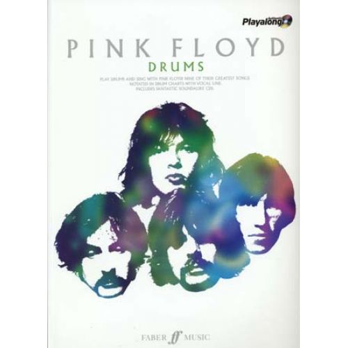 FABER MUSIC PINK FLOYD AUTHENTIC PLAYALONG DRUMS + CD
