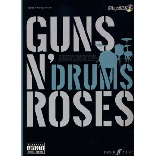 FABER MUSIC GUNS N' ROSES AUTHENTIC PLAY ALONG DRUMS + CD