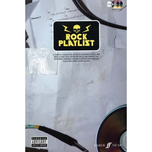 FABER MUSIC ROCK PLAYLIST + 2 CD - PAROLES ET ACCORDS