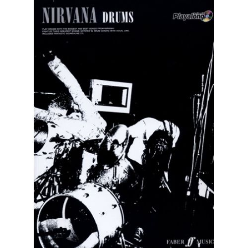 FABER MUSIC NIRVANA AUTHENTIC PLAYALONG DRUMS + CD