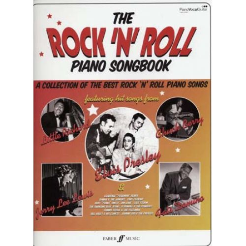 FABER MUSIC ROCK 'N' ROLL PIANO SONGBOOK PVG