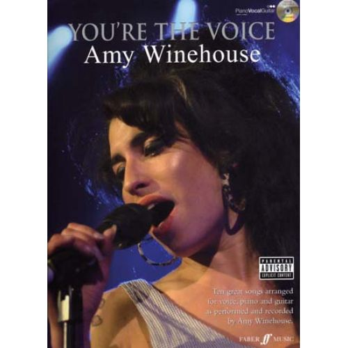 FABER MUSIC WINEHOUSE AMY - YOU'RE THE VOICE + CD