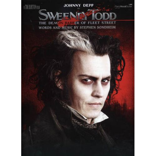 HAL LEONARD SWEENEY TODD - PIANO VOCAL
