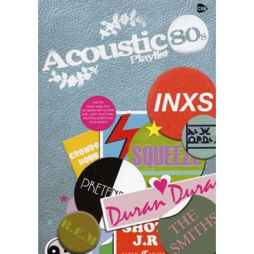 FABER MUSIC ACOUSTIC PLAYLIST 80'S CHORD SONGBOOK
