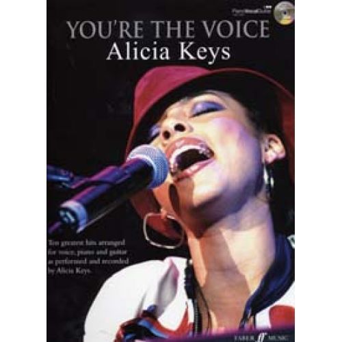 FABER MUSIC KEYS ALICIA - YOU'RE THE VOICE PVG + CD