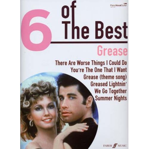 FABER MUSIC GREASE 6 OF THE BEST - PVG