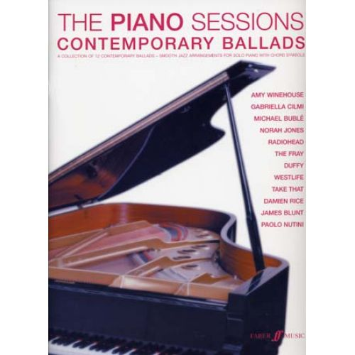 FABER MUSIC PIANO SESSIONS CONTEMPORARY BALLADS