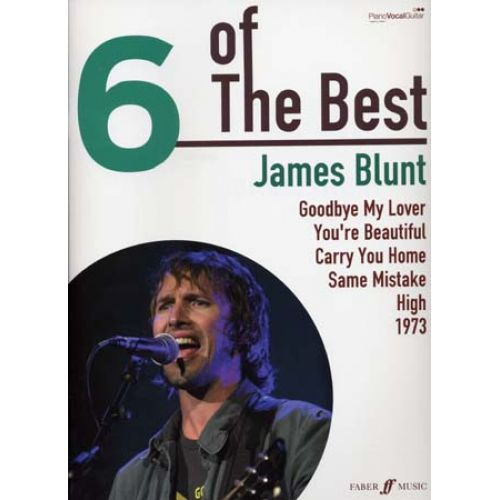 FABER MUSIC BLUNT JAMES 6 OF THE BEST PVG