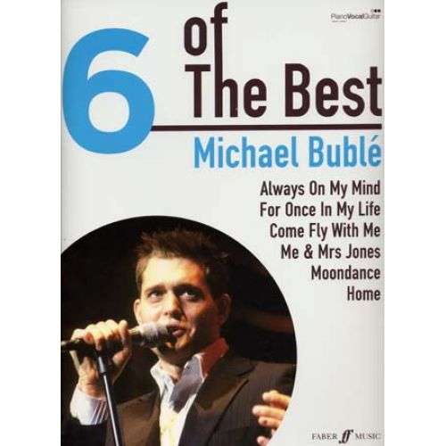 FABER MUSIC BUBLE MICHAEL 6 OF THE BEST PVG