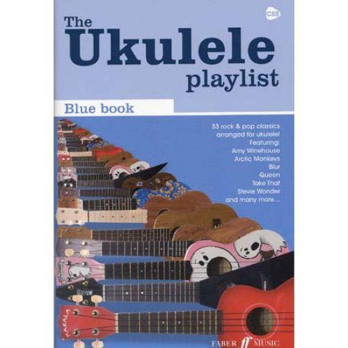 FABER MUSIC UKULELE PLAYLIST BLUE BOOK 32 ROCK & POP CLASSICS