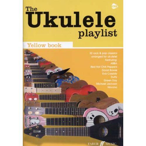 FABER MUSIC UKULELE PLAYLIST YELLOW BOOK 32 ROCK & POP CLASSICS