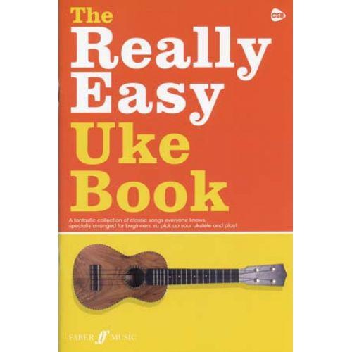 FABER MUSIC REALLY EASY UKE BOOK - UKULELE