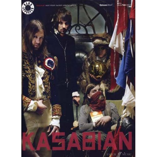 FABER MUSIC KASABIAN - WEST RYDER PAUPER LUNATIC ASYLUM - GUITAR TAB