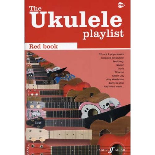 FABER MUSIC UKULELE PLAYLIST RED BOOK 30 ROCK & POP CLASSICS