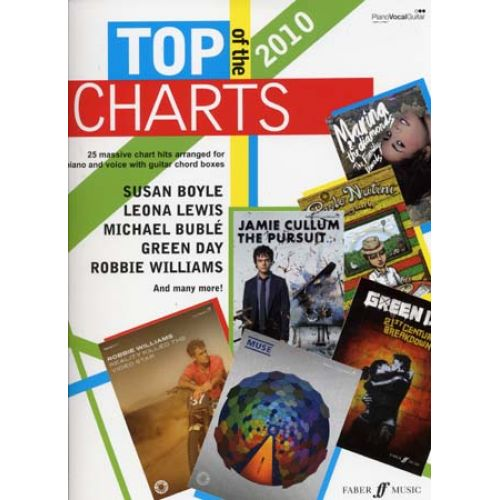 FABER MUSIC TOP OF THE CHARTS 2010 - PVG