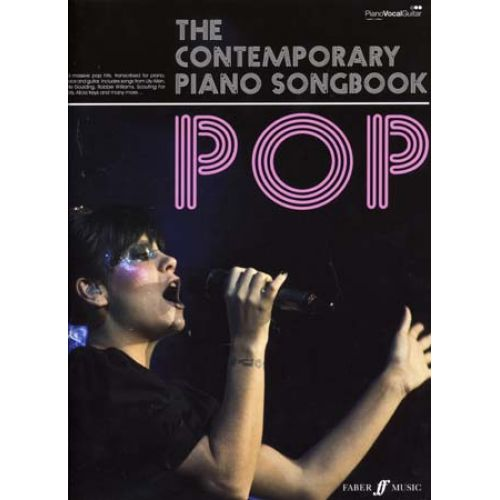 FABER MUSIC CONTEMPORARY PIANO SONGBOOK - POP - PVG
