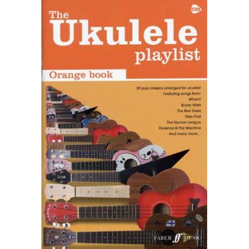 FABER MUSIC UKULELE PLAYLIST ORANGE BOOK 29 - POP CLASSICS - UKULELE