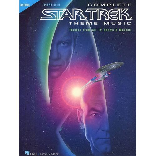 HAL LEONARD COMPLETE STAR TREK THEME MUSIC - 3RD EDITION - PIANO
