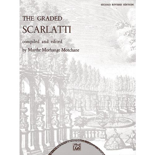 ALFRED PUBLISHING SCARLATTI DOMENICO - GRADED SCARLATTI - PIANO SOLO