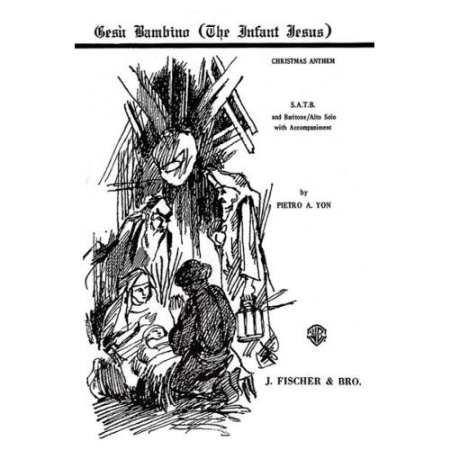 ALFRED PUBLISHING GESU BAMBINO - MIXED VOICES
