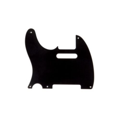 FENDER PICKGUARD TELECASTER BLACK 1 PLY LEFT HANDED