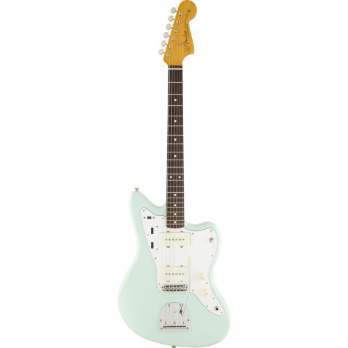 FENDER MEXICAN JAZZMASTER CLASSIC SERIES '60S LACQUER RW SURF GREEN