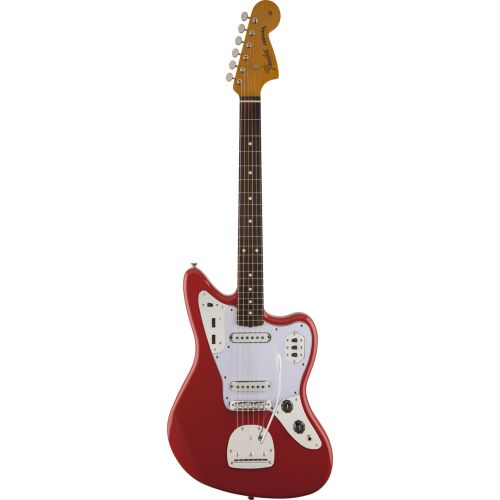 FENDER MEXICAN JAGUAR CLASSIC SERIES '60S LACQUER RW FIESTA RED