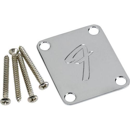 FENDER 099-1448-100 NECK PLATE F CHROME