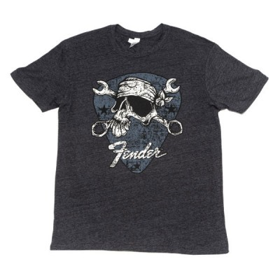 FENDER DAVID LOZEAU MECHANICO T-SHIRT BLACK M