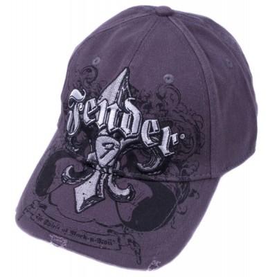 FENDER FLEUR DE FUNK STRETCH CAP CHARCOAL L/XL