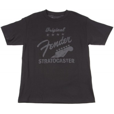 FENDER ORIGINAL STRAT T-SHIRT CHARCOAL S