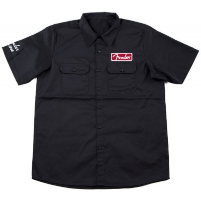 FENDER WORKSHIRT BLACK L