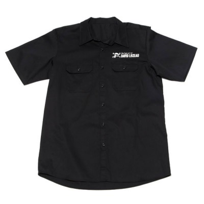 FENDER DAVID LOZEAU MECHANICO WORKSHIRT BLACK M