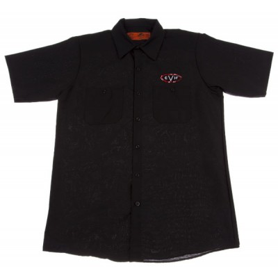 FENDER WOVEN SHIRT BLACK XL