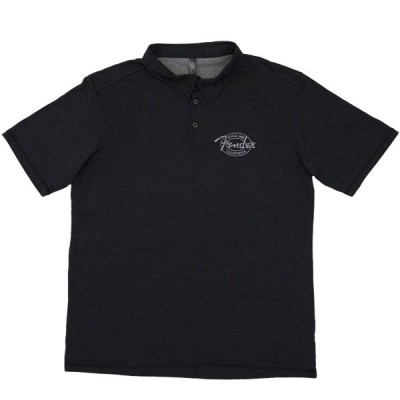 FENDER INDUSTRIAL POLO BLACK XL