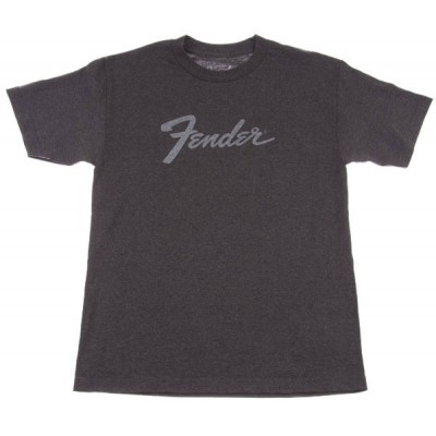 FENDER AMP LOGO T-SHIRT CHARCOAL XL