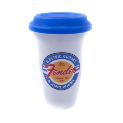 FENDER CERAMIC CUP 11 OZ. WHITE