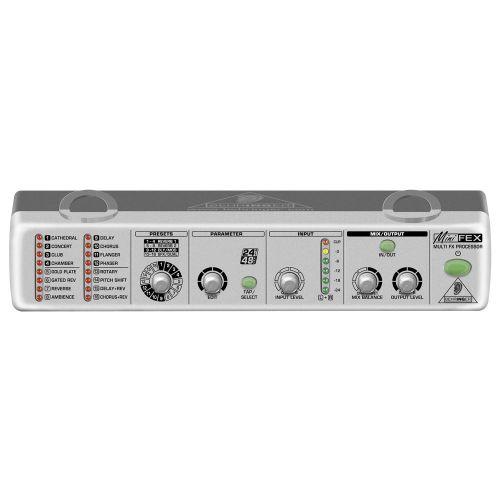 BEHRINGER MINIFEX FEX800 DIGITAL MULTIEFFEKT PROZESSOR