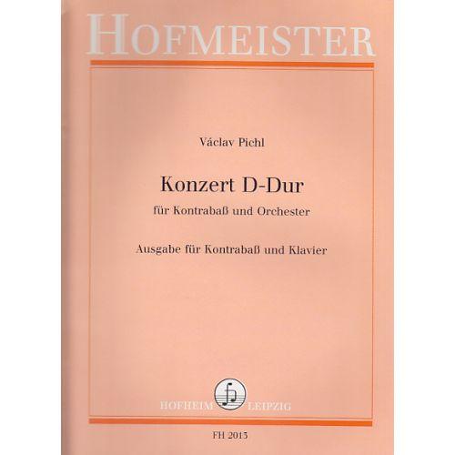 HOFMEISTER 2 Kontraba Konzert für Kontrabass und Orchester Ausgabe in D-Dur