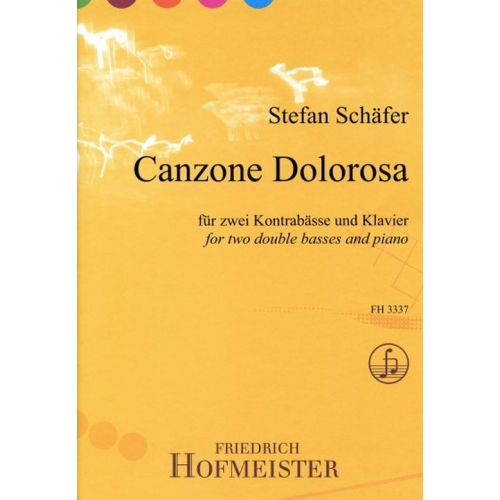 HOFMEISTER SCHAFER STEFAN - CANZONE DOLOROSA