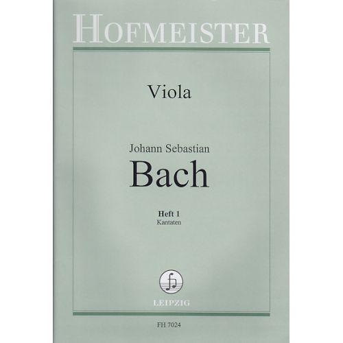 HOFMEISTER BACH J.S. - ORCHESTERSTUDIEN VOL.1(TRAITS D'ORCHESTRE) - VIOLA