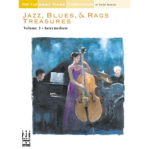 MUSIC SALES JAZZ BLUES AND RAGS TREASURES VOLUME 3 - PIANO SOLO