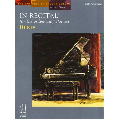 MUSIC SALES MARLAIS HELEN IN RECITAL FOR ADVANCING PIANIST DUETS EARLY ADV - PIANO SOLO
