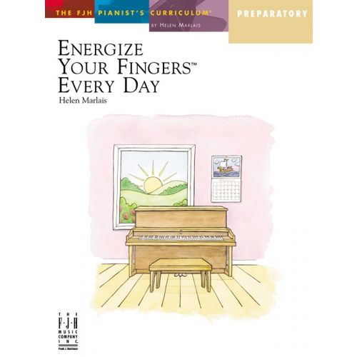 MUSIC SALES MARLAIS HELEN ENERGIZE YOUR FINGERS EVERY DAY PREPARATORY - PIANO SOLO