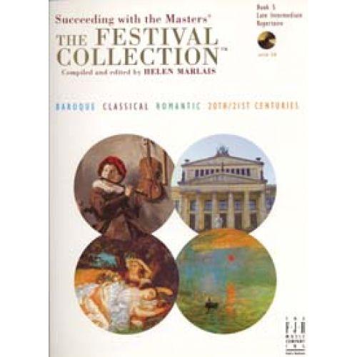 FJH MUSIC COMPANY FESTIVAL COLLECTION BK.5 LATE INTERMEDIATE REPERTOIRE CD