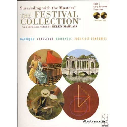 FJH MUSIC COMPANY FESTIVAL COLLECTION BOOK.7 EARLY ADVANCED REPERTOIRE + 2 CDs