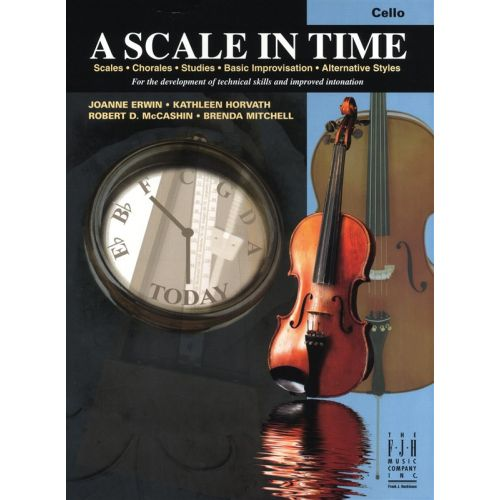 MUSIC SALES ERWIN HORVATH MCCASHIN MITCHELL A SCALE IN TIME - CELLO